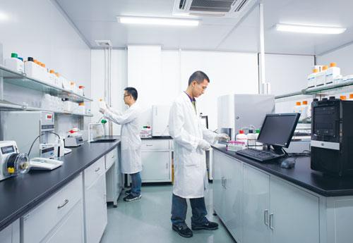 血球实验室|生化试剂生产掠影|蓝韵集团--国产医疗