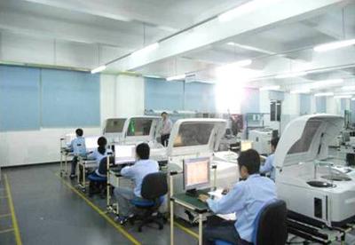 生产线测试区